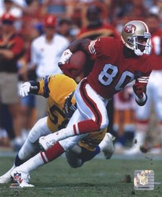 Jerry Rice SanFrancisco..Get him the ball, never go wrong