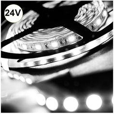 Ταινία LED 14.4W 60LED 24VDC Ψυχρό Λευκό Αν ενδιαφέρεστε για αυτό το προϊόν επικοινωνήστε μαζί μας Ταινία+LED+14.4W+60LED+5050+24VDC+Ψυχρό+Λευκό+IP65