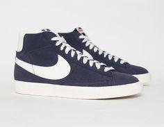 #Nike Blazer Vintage Blue - dope navy