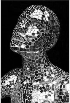 Mirrored mosaic....