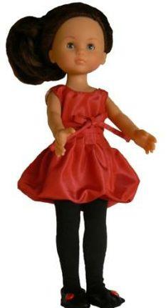 Robe boule pour poupée.
