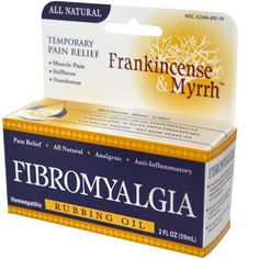 Frankincense & Myrrh, Fibromyalgia, Rubbing Oil, 2 fl oz (59 ml) - iHerb.com