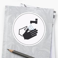 A friendly reminder to those around you to keep washing their hands during these strange times. We can all do our bit, pull together and get through it together. Hand Sticker, Free Stickers, Sticker Design, Finding Yourself, Hands, Artists, Times, Unique, Artist