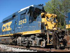 CSX Train Wreck | Re: CSX MI Train Location Update 1/26/10