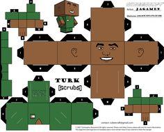 Turk Cubeecraft by JagaMen.deviantart.com on @DeviantArt