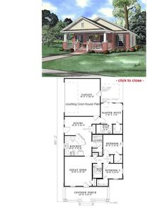 bungalow floor plans - Bungalow Floor Plans