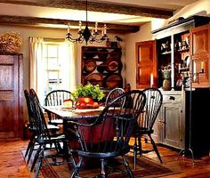 Pretty Country Dining Area.....