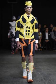 THOM BROWNE. NEW YORK 2015 SS PARIS MEN'S RTW Photo by Giovanni Giannoni (c) Fairchild Fashion Media