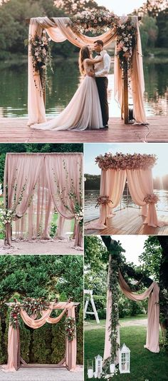 dusty rose wedding arches and alters wedding alter 25 Trending Dusty Rose and Sage Wedding Color Ideas - Oh Best Day Ever Wedding Centerpieces, Wedding Bouquets, Wedding Decorations, Wedding Dresses, Wedding Backdrops, Sage Green Wedding, Dusty Rose Wedding, Burgundy Wedding, Deco Rose