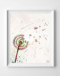 Dandelion Type 2 Print