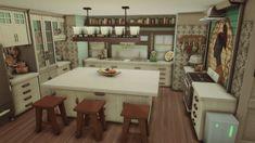 a work in progress Sims 4 House Design, Casas The Sims 4, Sims Building, Sims 4 Houses, Sims Cc, Sims Ideas, Minecraft Art, Interior, Room Ideas