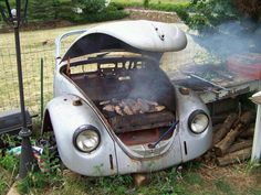 You might be a red neck if......you have a barbecue beatle!!