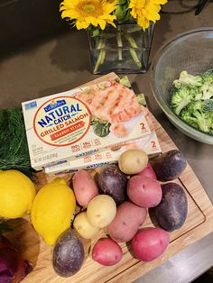 Gorton's All Natural Seafood Salmon makes an easy sheet pan meal and ready in 17 minutes. #easydinner #sheetpan Simple Baked Salmon, Frozen Salmon, Frozen Seafood, Create A Recipe, Everything Bagel, Cooking Salmon, Grilled Salmon, How To Squeeze Lemons, Easy Weeknight Meals
