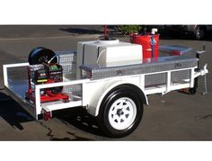 trailer and equipment