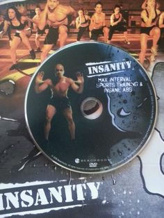 INSANITY MAX INTERVAL SPORTS TRAINING & INSANE ABS DVD REPLACEMENT SINGLE DISC