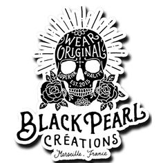 Stickers Black Pearl Créations