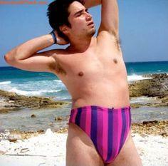 fat man in speedo - Google Search