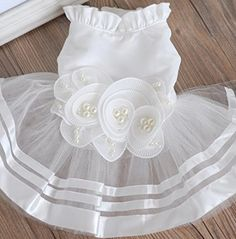 Classic cat Wedding Dress catal Dog Dresses for Small Dogs *** Awesome cat product. Click the image : Cat Apparel