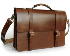 Our New bag: Handmade Classic Messenger Bag with Gusset #handmade #leather #bag