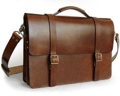 Our New bag: Handmade Classic Messenger Bag with Gusset #handmade #leather #bag
