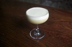 Thundernut with pistachio rum at Booker and Dax