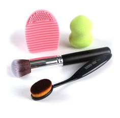 Practical Gui Mi 4pcs Blender Silicone Sponge Makeup Puff For Liquid Foundation Powder Bb Cream Beauty Essentials Cosmetic Pro Beauty Tool Choice Materials Beauty & Health Beauty Essentials