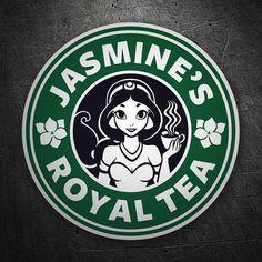 Pegatinas: Jasmine Royal tea #starbucks #TeleAdhesivo #jasmine