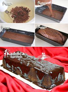 Pasta Cake, Cake Recipes, Dessert Recipes, Recipe Mix, Iftar, Turkish Recipes, Chocolate Cake, Deserts, Food And Drink