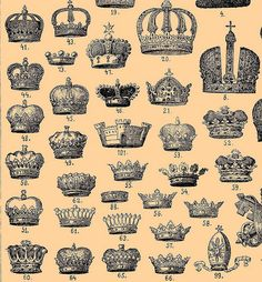ONLY the CROWNS(!) & NOT the RELIGIOUS hats (which I NEVER HAVE & NEVER WILL CONSIDER them to be  CROWNS)‼️‼️‼️AND -as far as I'm concerned- The  ONLY ONE WORTHY OF A CROWNS, IS THE REAL KING (of Kings)-> JESUS‼️‼️‼️➕‼️