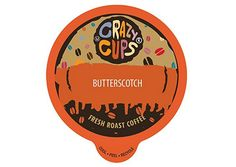 Crazy Cups Flavored Coffee Keurig K Cups 1.0  2.0  Brewer Butterscotch 21 Pods | Home & Garden, Food & Beverages, Coffee | eBay!