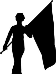 color guard silhouette 2 interesting things pinterest colour rh pinterest co uk color guard flag clipart color guard clipart