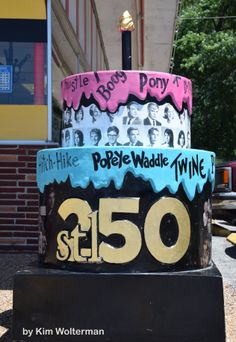 Cakeway to the West - Chuck-A-Burger Drive-In view 1 #cakewaytothewest #stl250
