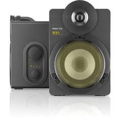 Philips BTS3000G/10 S3X Kabellose Studio-Lautsprecher mit Bluetooth (30 W RMS, aptX, AAC, Bassreflex-System), grau: Amazon.de: Audio & HiFi