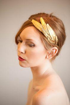 Mariage: joli accessoire de tête pour mariage d'automne