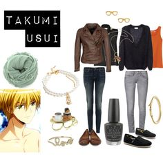 """""""Takumi Usui"""" by casualanime on Polyvore"""