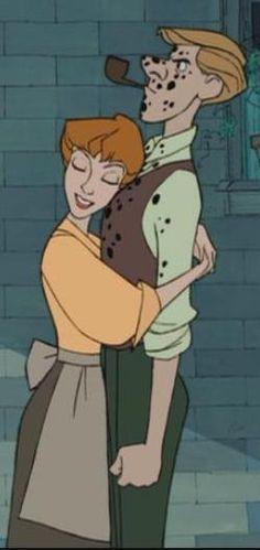 Cutest Disney couple ever.
