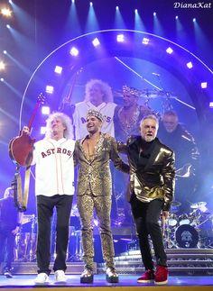 Fotos do Show Queen + Adam Lambert, Houston, TX (EUA) – 09/07 « Adam Lambert Brasil | A sua maior e melhor fonte brasileira sobre o cantor!