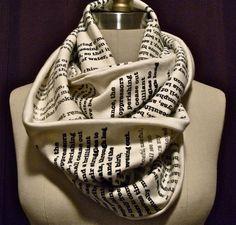 I need a book scarf