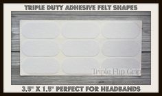 Hey, I found this really awesome Etsy listing at https://www.etsy.com/listing/230254753/new-x54-triple-duty-3m-peel-stick