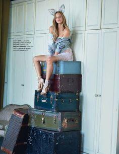 Marloes Horst by Matt Jones for Elle France 2014