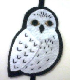 Marcador de página coruja do Harry