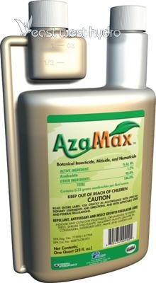 1 Quart AzaMax - pest control: a product of Nature in tune with Technology. Compost Tea Brewer, Reverse Osmosis System, Pest Control, Hydroponics, Active Ingredient, Bottle, Grow Room, Technology, Garden