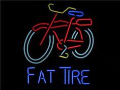 Fat Tire Neon Beer Sign