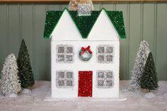 Carolina Country Living: The Start of the Christmas Decorating-Hobby Lobby House