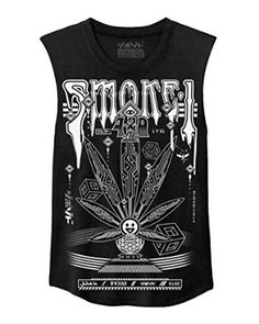 Damascus 420 Weed Rave Tank Top at Amazon Men's Clothing store: