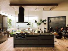 リシェルSI Room, House, Interior, Interior Architecture Design, Modern House, Kitchen Decor, Home Decor, Kitchen, Lixil