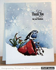 Click HERE to to see what's happening on our SIMPLICITY site. And now scroll down for more winter thank you's! You can never have too many thank you cards on hand during and after the holiday seaso...