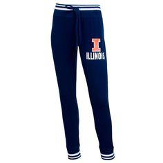 Women's College Concepts Illinois Fighting Illini Grandview Leggings, Size: Medium, Dark Blue