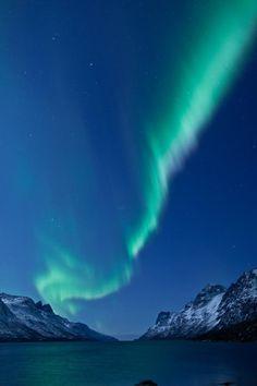 La Laponie vue du ciel