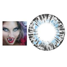 Special Effects Contact Lenses Vampire Eyes, Vampire Look, Special Effect Contact Lenses, Cosplay Contacts, Blue Contacts, Color Lenses, Special Effects, Eye Color, Eyeshadows